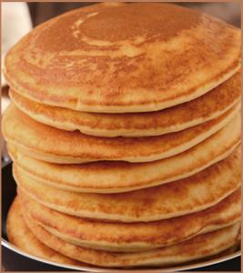低糖質のパンケーキーイメージ