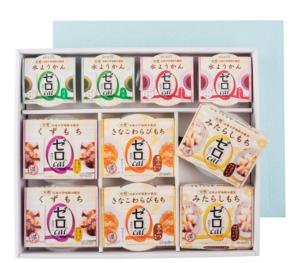 糖尿病の方へのお中元にもぴったりの和菓子セット-画像