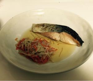 鮭の塩焼きとおひたし-画像.png